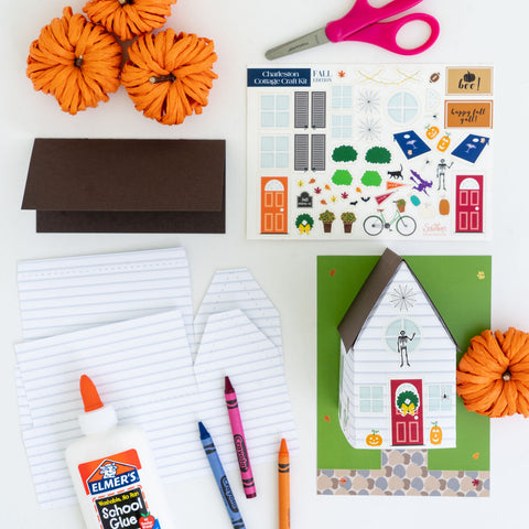 Halloween craft kits are a fun activity for all ages.