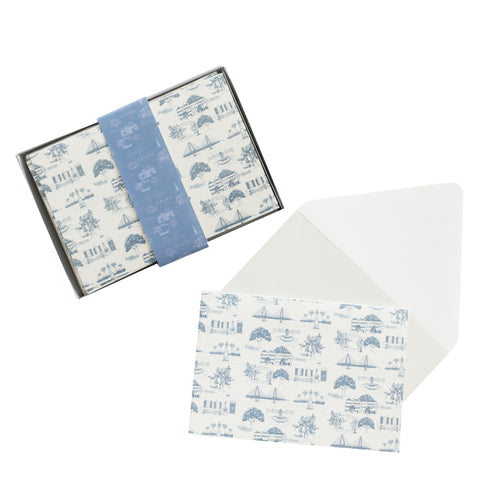 Toile Boxed Stationery Set