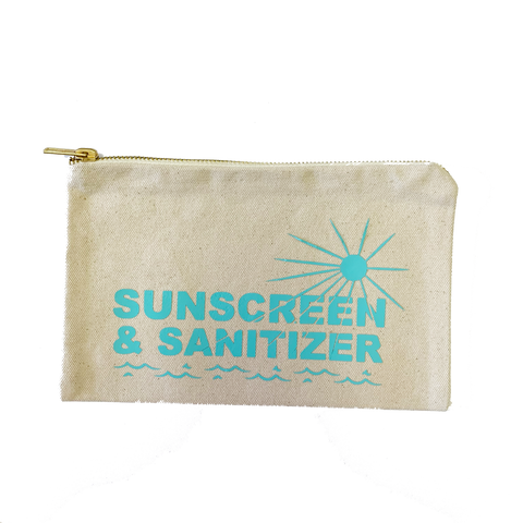 Sunscreen & Sanitizer Pouch