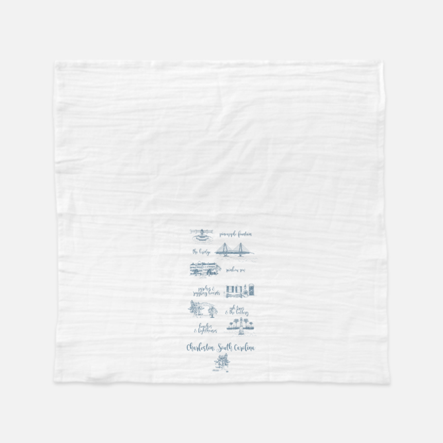 Charleston Tea Towel