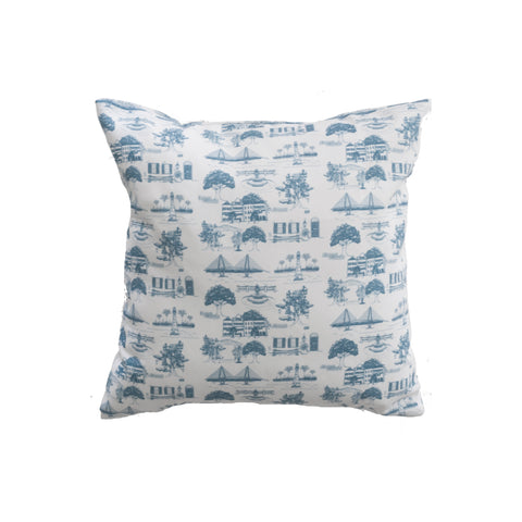 Charleston Toile Pillow