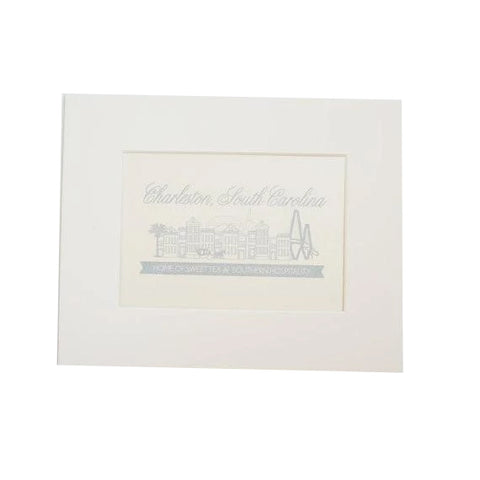 Charleston Single Houses Print