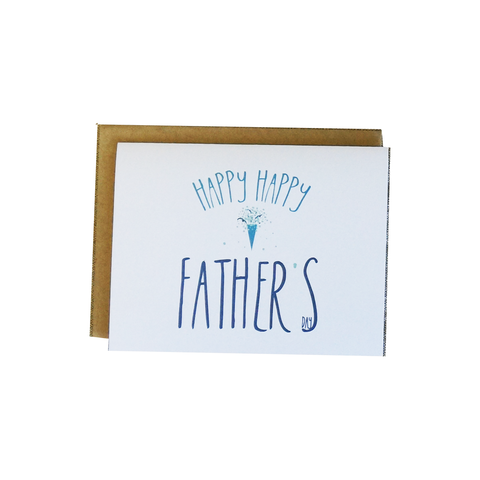 Happy Happy Father's Day Card