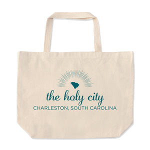 Charleston Oversize Tote Bag