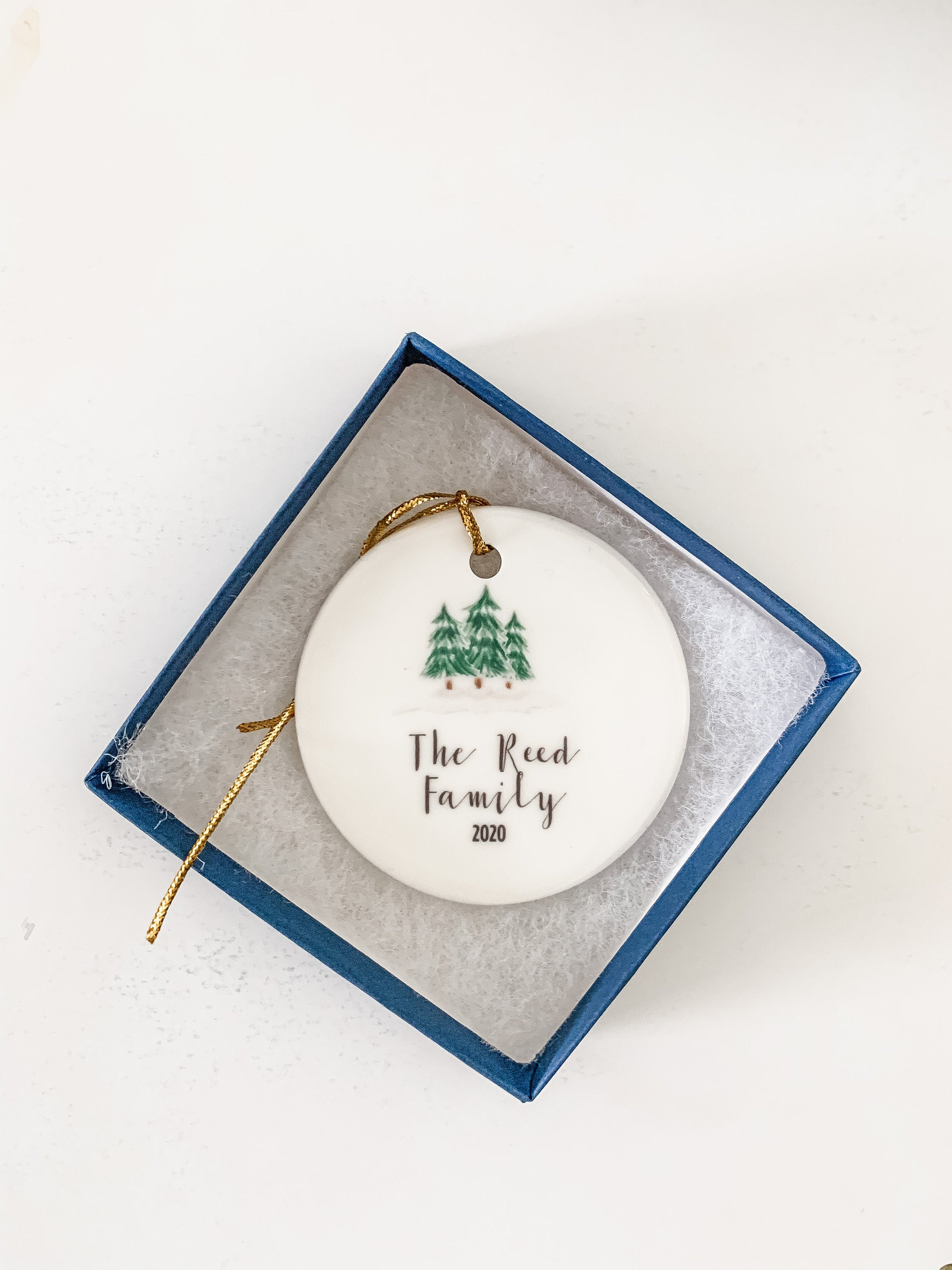 Personalized Tree Ornament