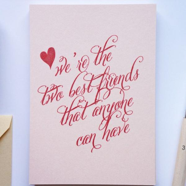 Funny Valentine's Card, Valentine - shop greeting cards, handmade stationery, & wedding invitations by dodeline design - 1