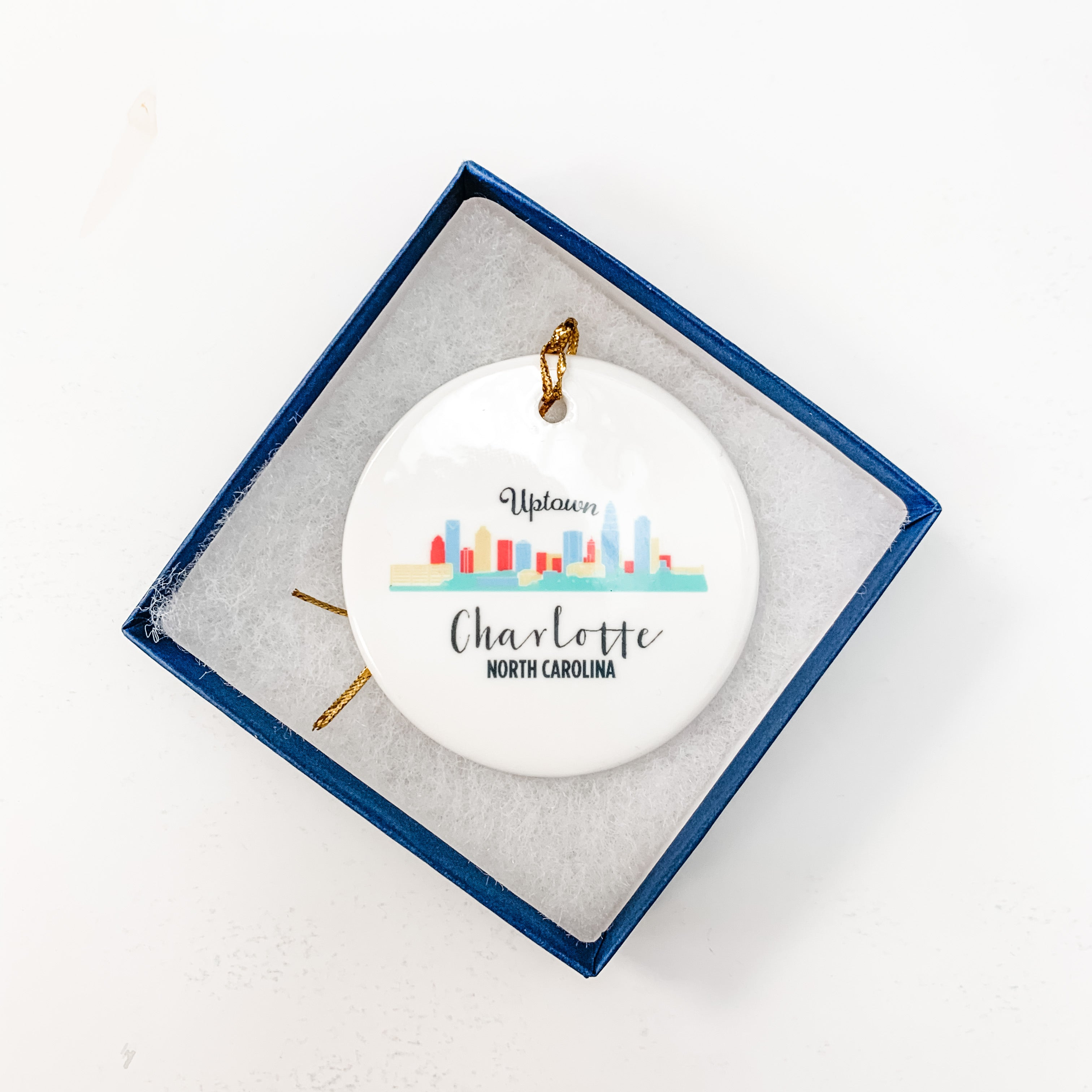 Uptown Charlotte Ornament