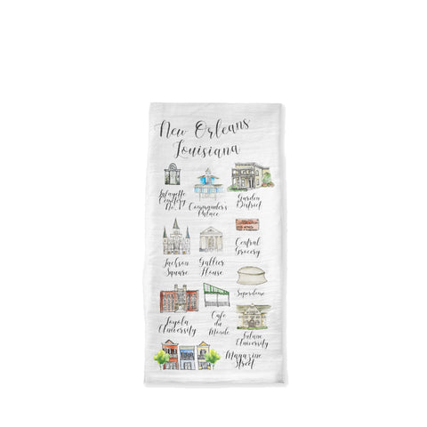 New Orleans Tea Towel