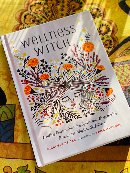 WELLNESS WITCH - MAGICAL SELF CARE BOOK - MoonbeamsandMayhem
