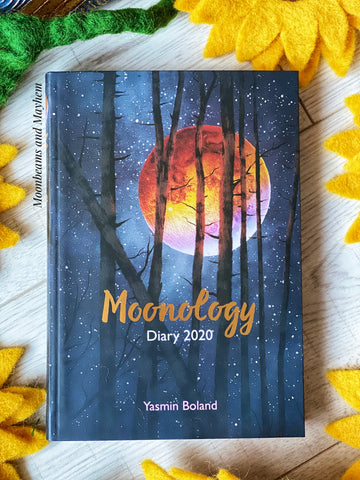 MOONOLOGY DIARY 2020 / BOOK