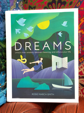 DREAMS BOOK, UNLOCK INNER WISDOM,DISCOVER MEANING, AND REFOCUS YOUR LIFE.