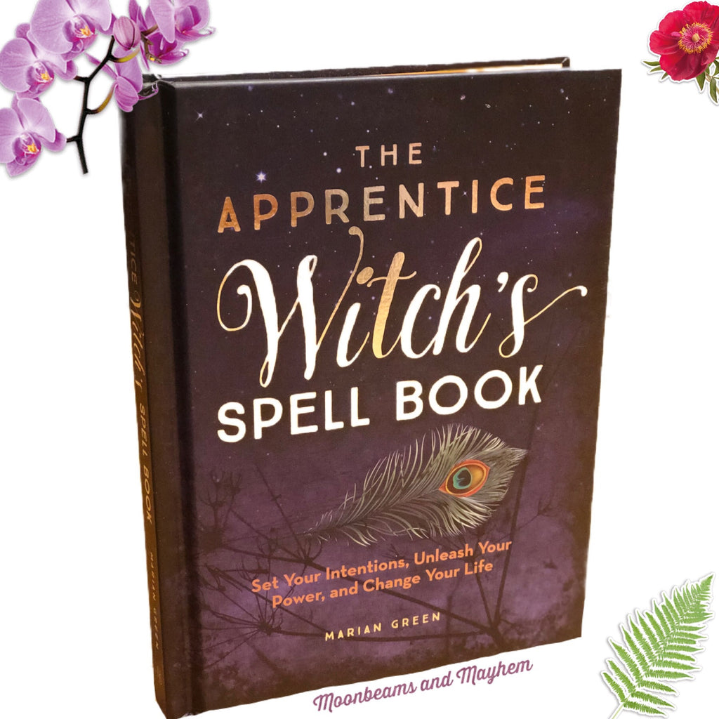THE APPRENTICE WITCH'S SPELL BOOK - MoonbeamsandMayhem