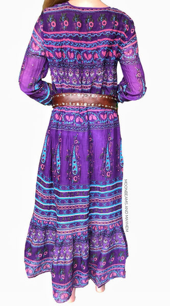 BEAUTIFUL 'KAMALA' BOHEMIAN MAXI DRESS S - XXL - MoonbeamsandMayhem