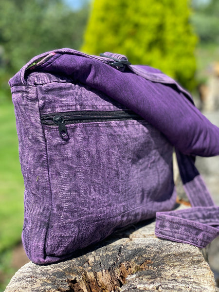 DELICIOUS PURPLE LUNA SATCHEL