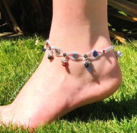 STRIKING ISABELLA ANKLET - MoonbeamsandMayhem