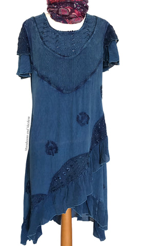 DELICIOUS BLUE 'CECILIA' TUNIC / DRESS