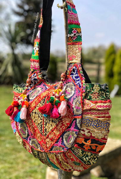 MOONBEAMS 'MAGIC SEEKER' BOHEMIAN FESTIVAL BAG / HANDBAG - MoonbeamsandMayhem