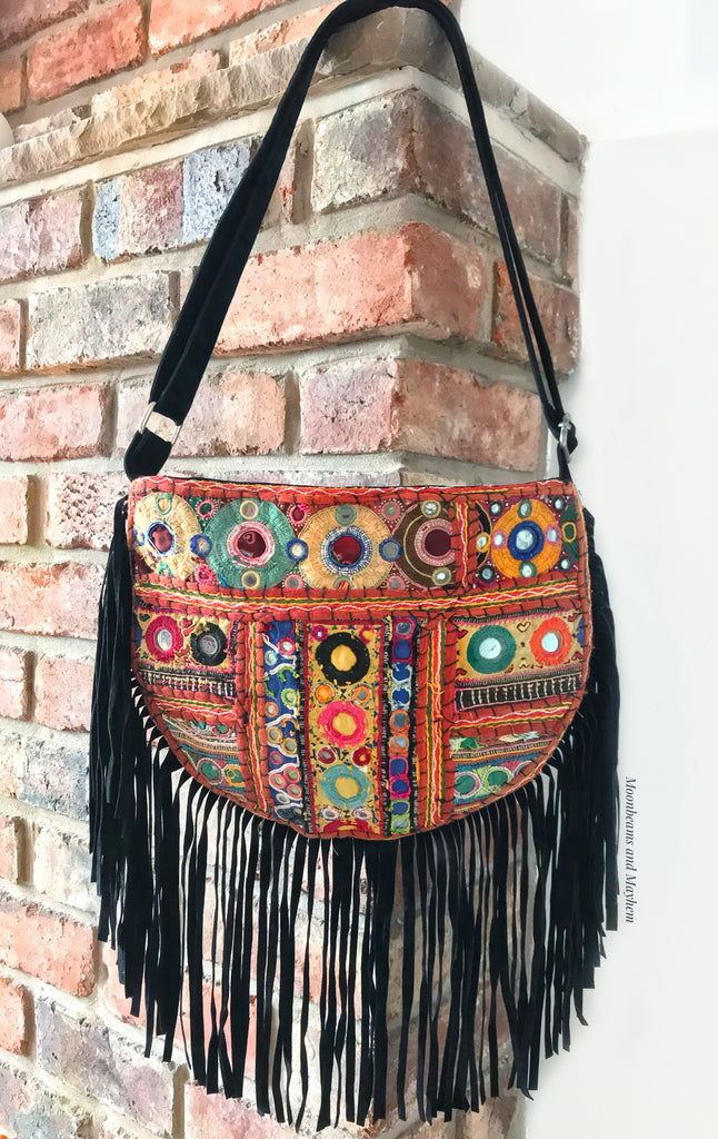 MOTHER OF THE MOUNTAINS SHOULDER BAG - MoonbeamsandMayhem