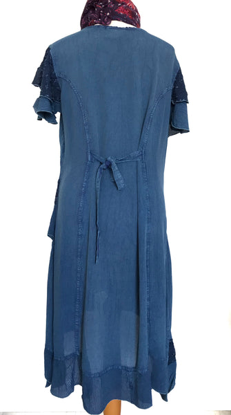 DELICIOUS BLUE 'CECILIA' TUNIC / DRESS - MoonbeamsandMayhem