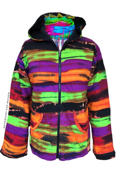 WONDERFUL FLEECE LINED 'DREAM WEAVER' JACKET / COAT S - XL - MoonbeamsandMayhem