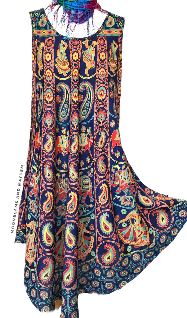 WONDERFUL MOONDAZE BOHEMIAN UMBRELLA DRESS