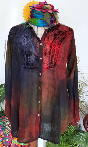 BEAUTIFUL ARABIAN NIGHTS BLOUSE / TUNIC (Ref 720)