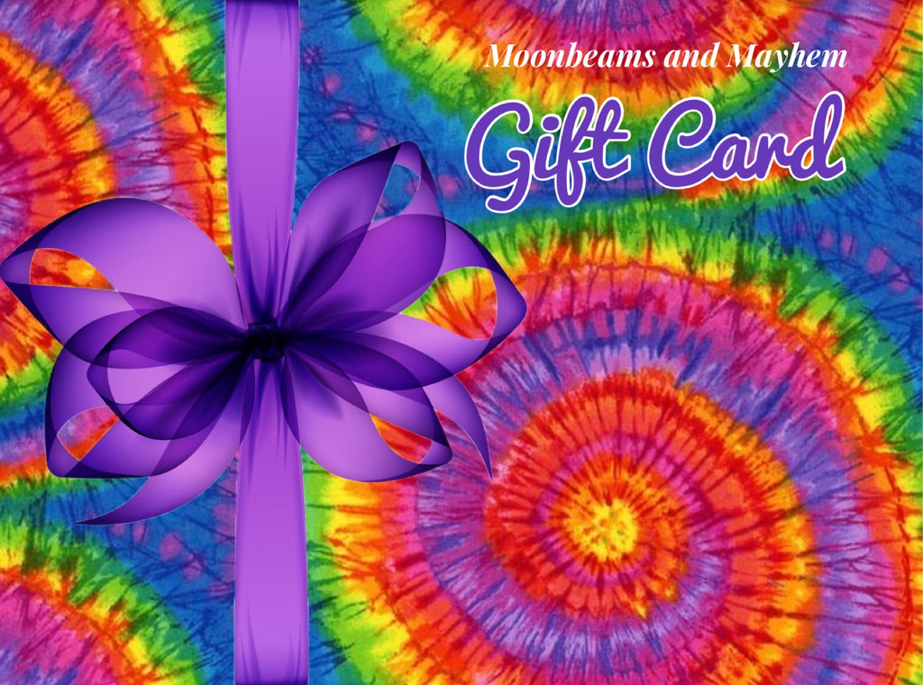 MOONBEAMS AND MAYHEM GIFT VOUCHER / CARD