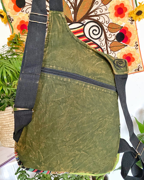WONDERFUL GREEN HANDY SIZE RUCKSACK