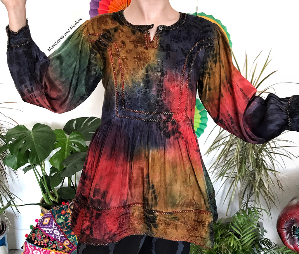 EXQUISITE ARABIAN NIGHTS BLOUSE / TUNIC