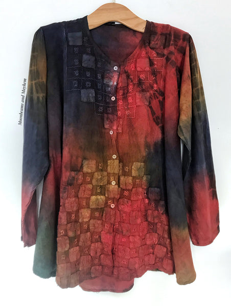 BEAUTIFUL ARABIAN NIGHTS BLOUSE / TUNIC (Ref 802) SIZE 12 / 14 / 16