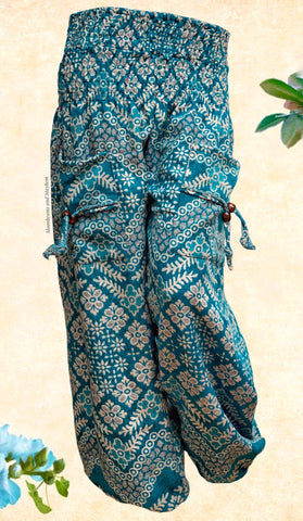 WARM SEA GREEN XL HAREM PANTS