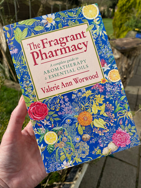 THE FRAGRANT PHARMACY BOOK / A COMPLETE GUIDE TO AROMATHERAPY & ESSENTIAL OILS - MoonbeamsandMayhem