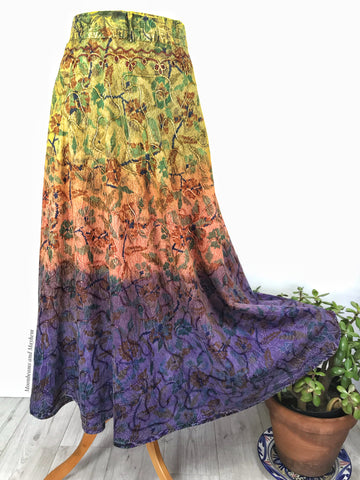 BEAUTIFUL 'SUNDANCE'  WRAP SKIRT M / L - MoonbeamsandMayhem