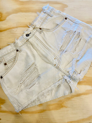 Vintage Orange Tab Levis Cutoffs Sz 6-7