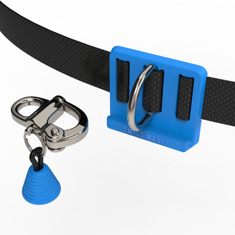 blue CNF belt with quick release