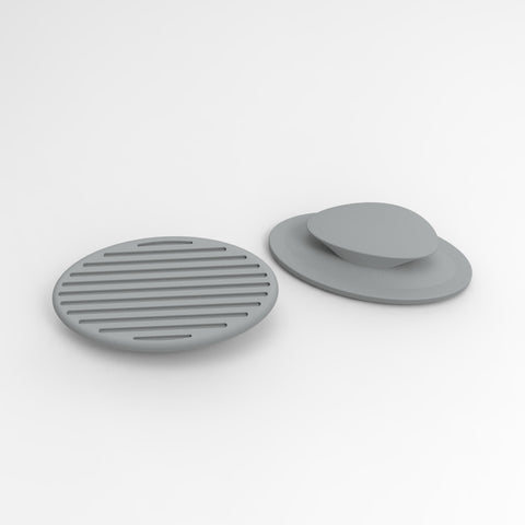 replacement pads for grey CARBON noseclip