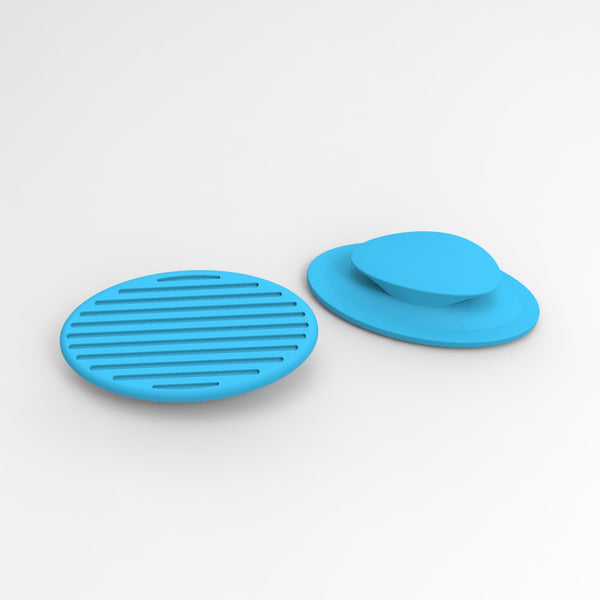 replacement pads for light blue CARBON noseclip