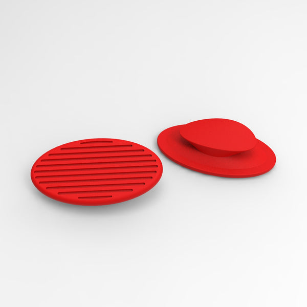 replacement pads for red CARBON noseclip