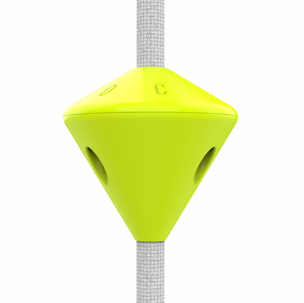 yellow safety stopper