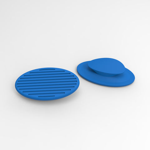 replacement pads for deep blue CARBON noseclip