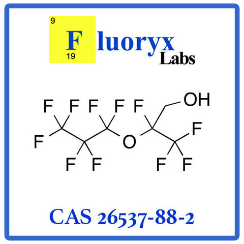 2-Perfluoropropoxy-2,3,3,3-tetrafluoropropanol | Catalog No: FC04-05E | CAS No: 26537-88-2