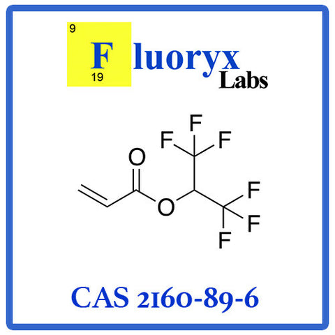 Hexafluoroisopropyl Acrylate | Catalog No: FC05-03 | CAS No: 2160-89-6