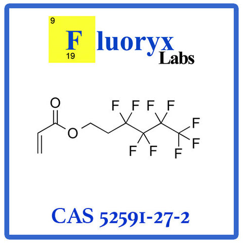 2-(Perfluorobutyl)ethyl acrylate | Catalog No: FC05-04 | CAS No: 52591-27-2