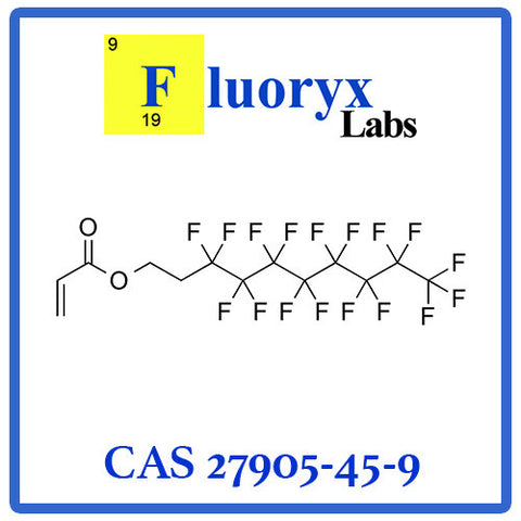 2-(Perfluorooctyl) ethyl acrylate | Catalog No: FC05-08 | CAS No: 27905-45-9