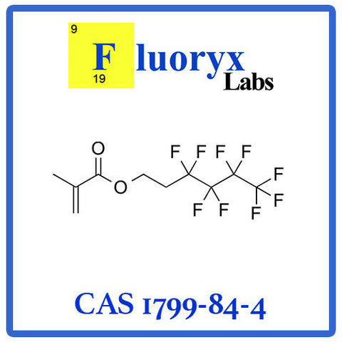 2-(Perfluorobutyl)ethyl methacrylate | Catalog No: FC07-04 | CAS No: 1799-84-4