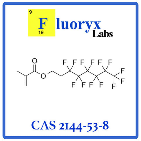 2-(Perfluorohexyl) ethyl methacrylate | Catalog No: FC07-06 | CAS No: 2144-53-8