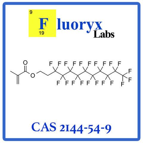 2-(Perfluorodecyl)ethyl methacrylate| Catalog No: FC07-10 | CAS No: 2144-54-9