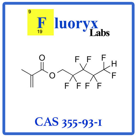 Octafluoropentyl methacrylate | Catalog No: FC07-OFPMA | CAS No: 355-93-1