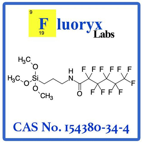 N-(3-Trimethoxysilylpropyl) perfluorohexanamide | Catalog No: FC09-05AM | CAS No: 154380-34-4