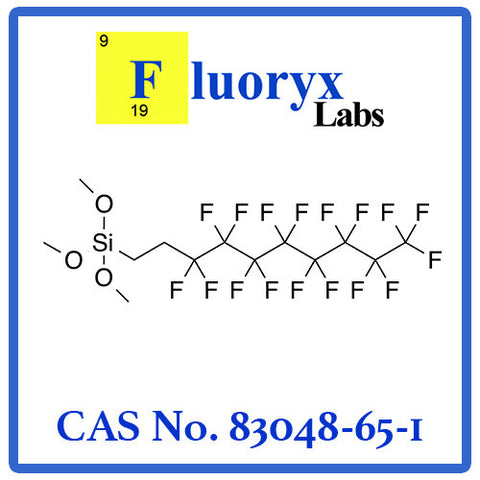 2-(Perfluorooctyl)ethyl trimethoxysilane | Catalog No: FC09-08M | CAS No: 83048-65-1